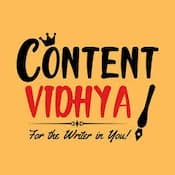 Content Vidhya for content writing workshop in India