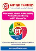 GST course at Capital Trainers in Hyderabad